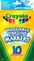 Crayola 10 Viltstiften met dunne punt