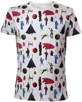 Star Wars - gekleurd All Over print Shirt - XL