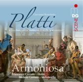 Platti: 6 Trio Sonatas for Violin, Violoncello and Continuo