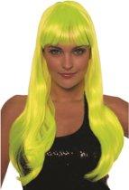 Bobine de luxe lang neon geel