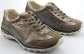 Gabor Rollingsoft Dames Lage sneakers - Zilver - Maat 38.5