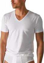 3 + 1 GRATIS  Bamboo Boru | T-Shirt V-hals | Wit | Maat M