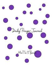 Daily Prayer Journal