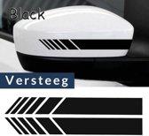 autospiegel stikker van Versteeg® - auto stikker - zwarte stikker