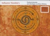 Indiaanse mandala's postkaartenboekje