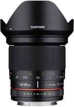 Samyang 20mm - F1.8 ED AS UMC - Geschikt voor Canon Systeemcamera's