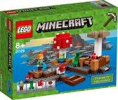 LEGO Minecraft Het Paddenstoeleiland - 21129