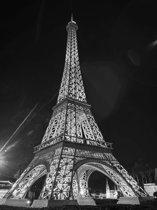 Fotobehang  Paris Eiffel Tower | XXL - 206cm x 275cm | 130g/m2 Vlies