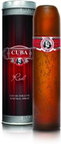 MULTI BUNDEL 3 stuks Cuba Paris Red Eau De Toilette Spray 100ml