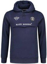 Black Bananas F.C. Anorak Hoodie Marine Blue