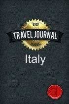 Travel Journal Italy