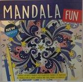 Kleurboek volwassenen / kinderen / mandala fun / new design / paars