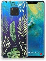 Huawei Mate 20 Pro Uniek TPU Hoesje Leaves