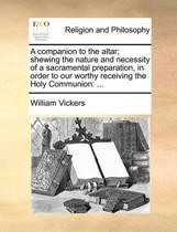 A Companion to the Altar