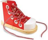Melissa & Doug - Wooden Lacing Shoe