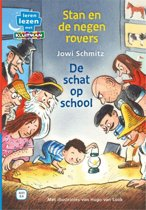 Leren lezen met Kluitman - Stan en de negen rovers 2: De schat op school