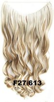 Wire hairextensions wavy blond - F27/613