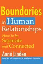 Boundaries in Human Relationships