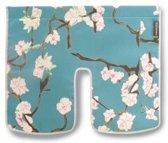 Basil Blossom Twig Windschermflap - Blauw