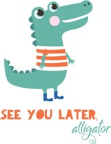 Fabs World ansichtkaart ' See you later'