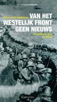 Boekomslag van 'Van het westelijk front geen nieuws (luisterboek)'