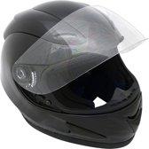 Motorx Motorhelm Integraal Zwart Maat L