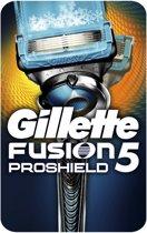 Gillette Fusion Proshield Manual - Blauw - Scheermes