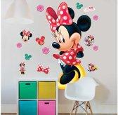 Walltastic Disney Minnie Mouse XXL Muursticker - 1.20 m hoog - kinderen