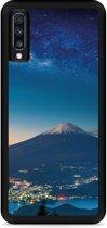 Galaxy A70 Hardcase hoesje Sky Rocks