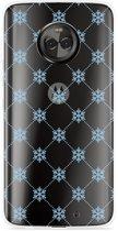 Motorola Moto X4 Hoesje Snowflake Pattern