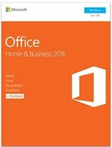 Microsoft(R) Office Home and Business 2016 Activation Card