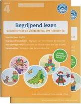 Begrijpend lezen oefenboeken compleet Compleet pakket, delen 1 en 2