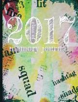 Class of 2017 Graduation Memory Journal Notebook