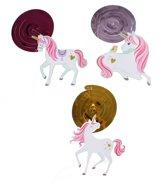 Amscan Decoratie Spiralen Eenhoorn 12 Stuks