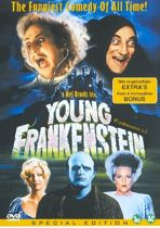 DVD cover van Dvd Young Frankenstein
