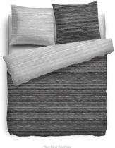 HNL Touch Dekbedovertrek Flen Black-240 x 200/220 cm