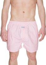 Pink Stripes Boxershort - Wit/Roze