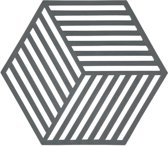 Zone Denmark Hexagon onderzetter - donkergrijs