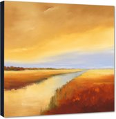 Down the river ll – 70x70 cm – Hans Paus – PixaPrint – AB0278-1