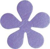 Papillon Glasonderzetters Bloem - Set van 6 Stuks - Lila