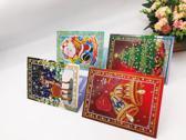 Diamond Painting Pakket 4 Prachtige Kerstkaarten - Inclusief enveloppen -  Gedeeltelijk - 13x18cm - SEOS Shop ®