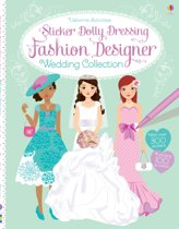 Sticker Dolly Dressing Fashion Designer Wedding Collection