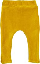 legging met split -  Corduroy Ochre Yellow - R Rebels
