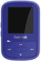 SanDisk Clip Sport Plus - MP3-speler - 16GB - Blauw