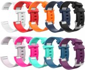 YONO Siliconen bandjes - Fitbit Charge 2 - 10-pack - Small