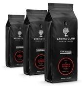Aroma Club koffiebonen - No. 3 Strong George - 8 x 1 KG - Koffie Intensiteit 5/5