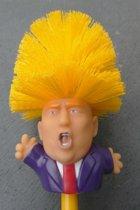 Toiletborstel Donald Trump - Grappig Cadeau - Cadeau Artikelen - Carnaval Accessoires
