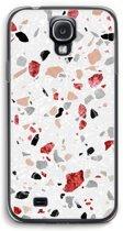 Samsung Galaxy S4 Transparant Hoesje - Terrazzo N°12