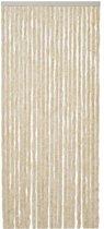 Kattenstaart - 56x180 cm - Beige/Wit