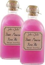 Jules & Julie - Rose Thé Bain Mousse - 250 ml - Badschuim